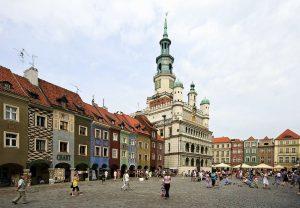 Stary Rynek to atrakcja Poznania, którą warto zobaczyć z Eko Taxi