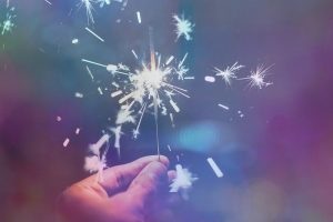 Zimne ognie na Nowy Rok