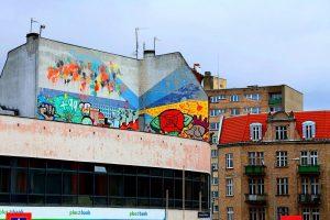 Mural w dzielnicy Poznania, Jeżycach