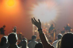 Publiczność podczas koncertów w Lublinie