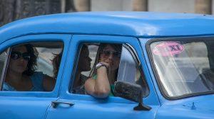 Pasażerki taksówki