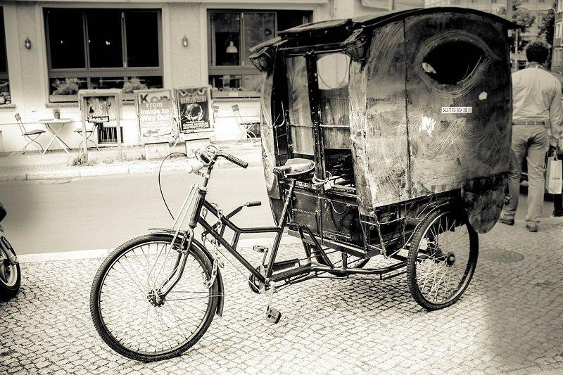 Dawna riksza rowerowa