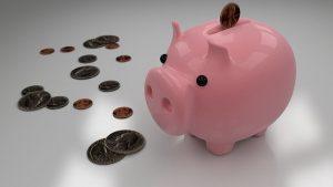 Świnka skarbonka na oszczędności